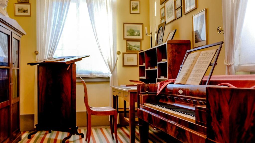 комната в доме-музее Мендельсона Бартольди