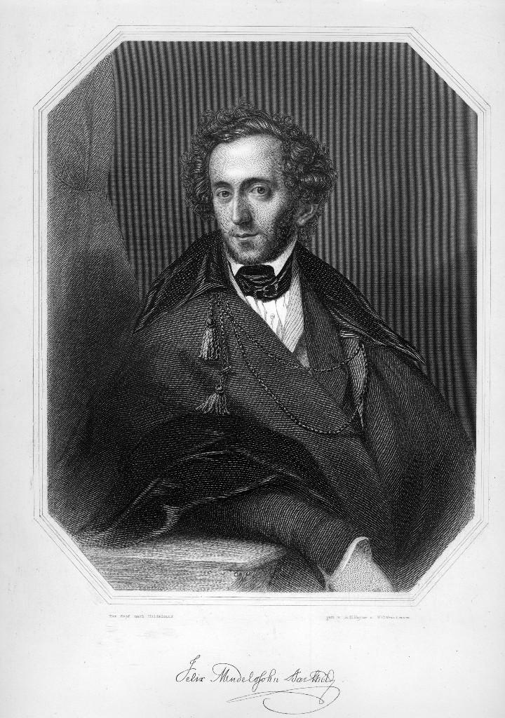 Мендельсон Бартольди, портрет