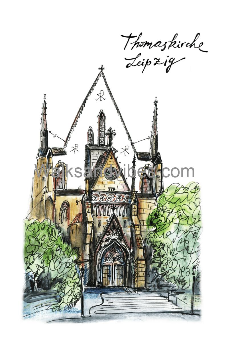 Церковь Святого Фомы Лейпциг