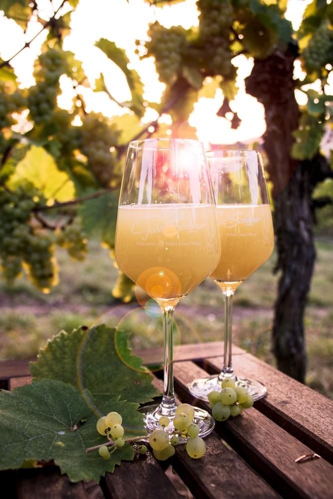 Федервайсер - молодое вино с белыми пёрышками