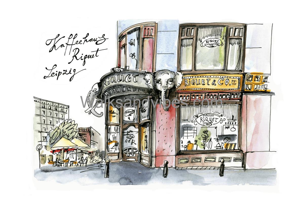 Авторские экскурсии в Лейпциге
